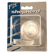 "Shepherd 9088 1-7/8"" Round Plain Plastic Caster Cups, 4 Count"