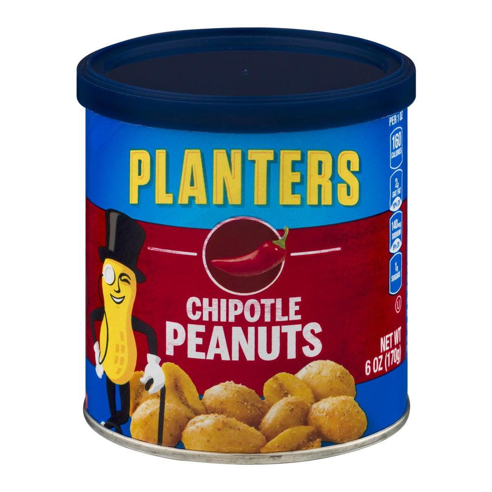 Planters Chipotle Peanuts, 6 oz