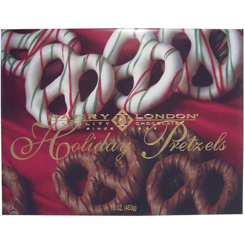 Harry London Holiday Pretzels Gift, 16 oz