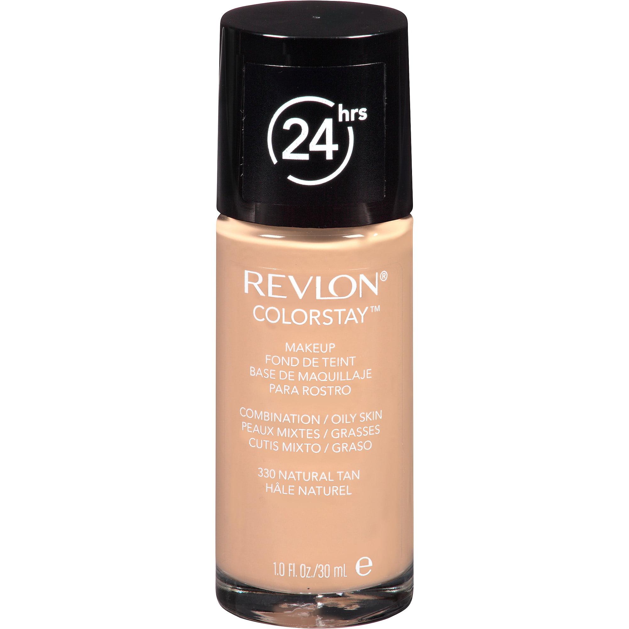 Revlon ColorStay Makeup for Combination/Oily Skin, 330 Natural Tan, 1 fl oz