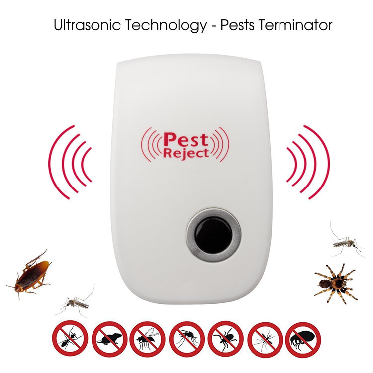 GOOPRO Ultrasonic Pest Repeller- Electronic Pest Control Plug-in Repellent for Mosquitoes, Mice, Ants, Roaches, Spiders, Bugs, Flies, Insects, Rodents(set of 1)