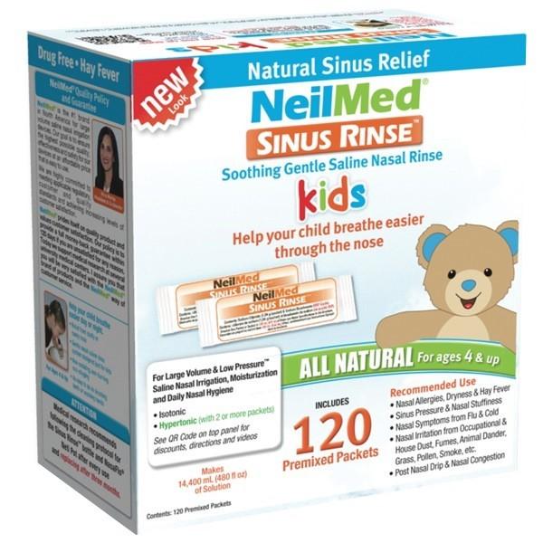 NeilMed Sinus Rinse Pediatric Refill Packets, 120 Ct