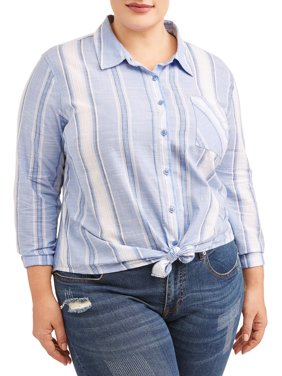 227ab166376 Product Image Women s Plus Size Woven Shirt