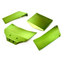 Integy RC Toy Model Hop-ups C27003GREEN Aluminum Alloy Body Panel Kit for Axial 1/10 RR10 Bomber 4WD