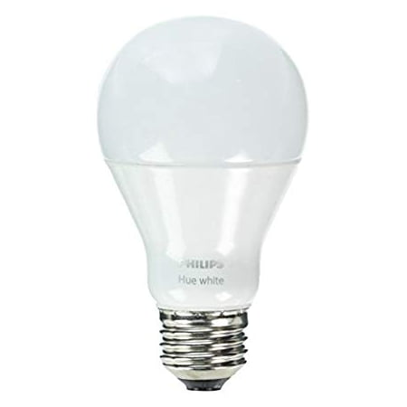 Philips Hue White A19 60W Smart Dimmable LED Bulb - White
