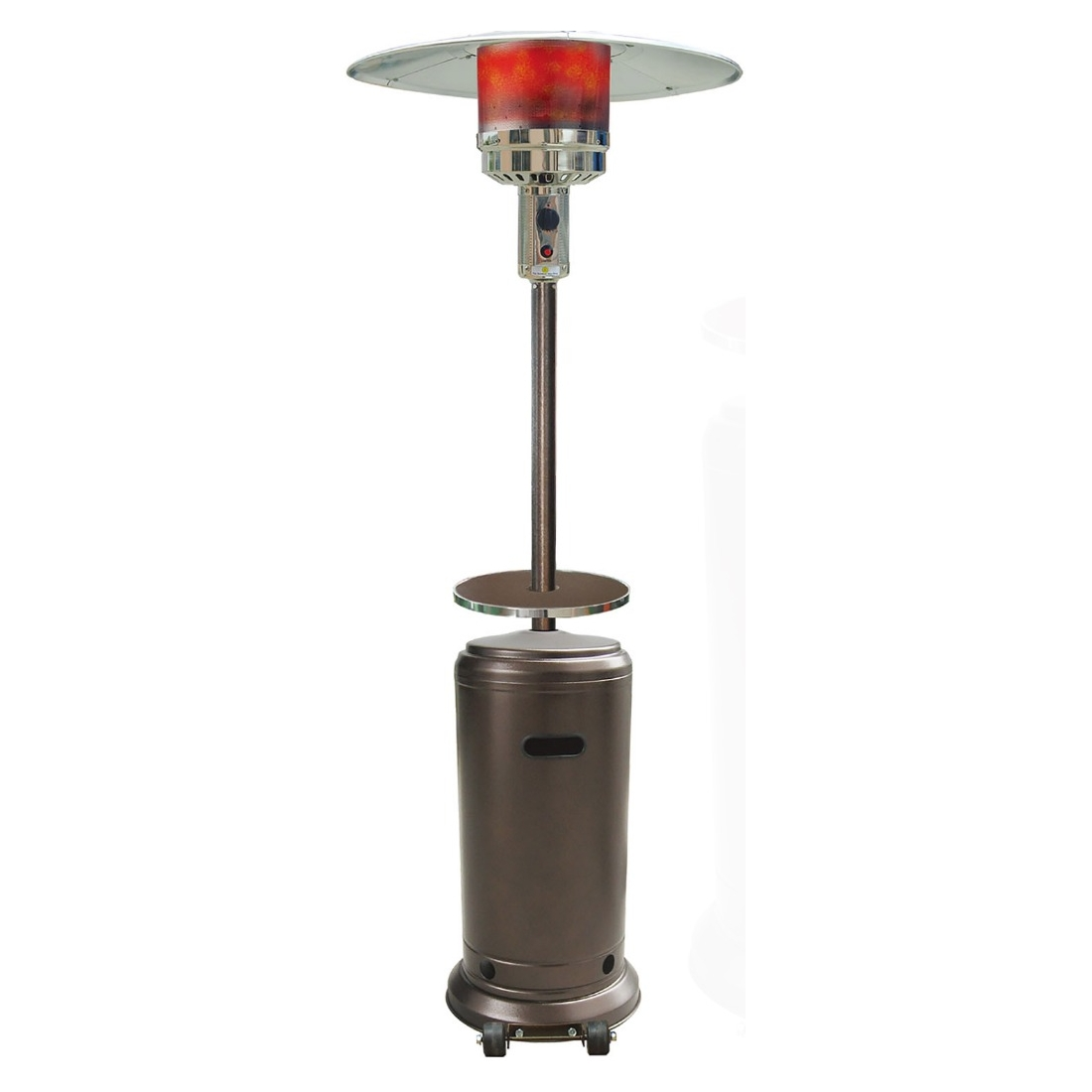 Good Hanover Outdoor 7 Ft. 41,000 BTU Steel Umbrella Propane Patio Heater