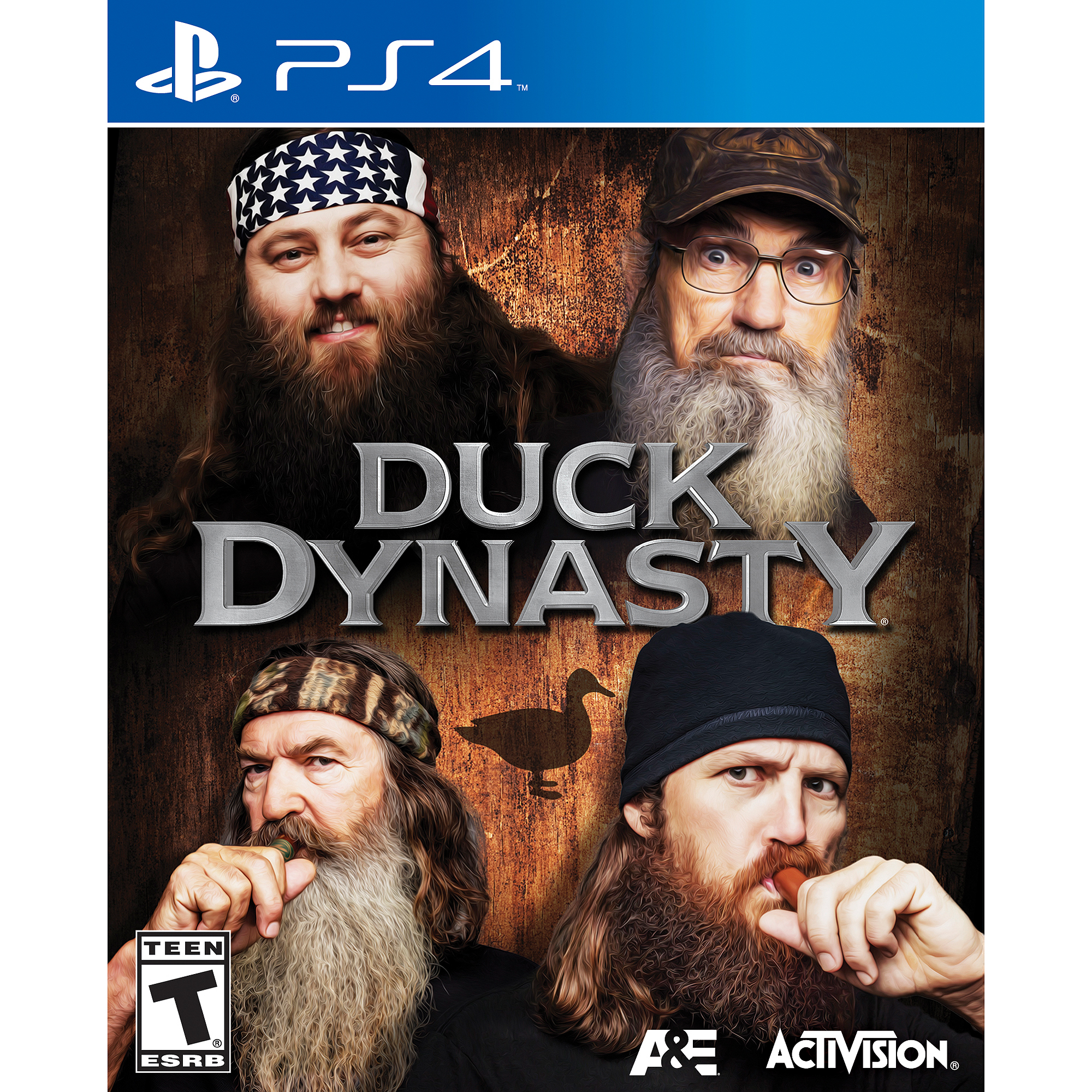 Sony PlayStation 4 Duck Dynasty Video Game by Activision