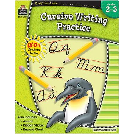 Ready-Set-Learn: Cursive Writing Practice Grd 2-3 Cursive Writing Capital Letters