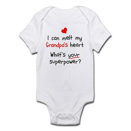 Heart Infant Bodysuit (Melt Grandpa's Heart Infant Bodysuit - Baby Light Bodysuit )