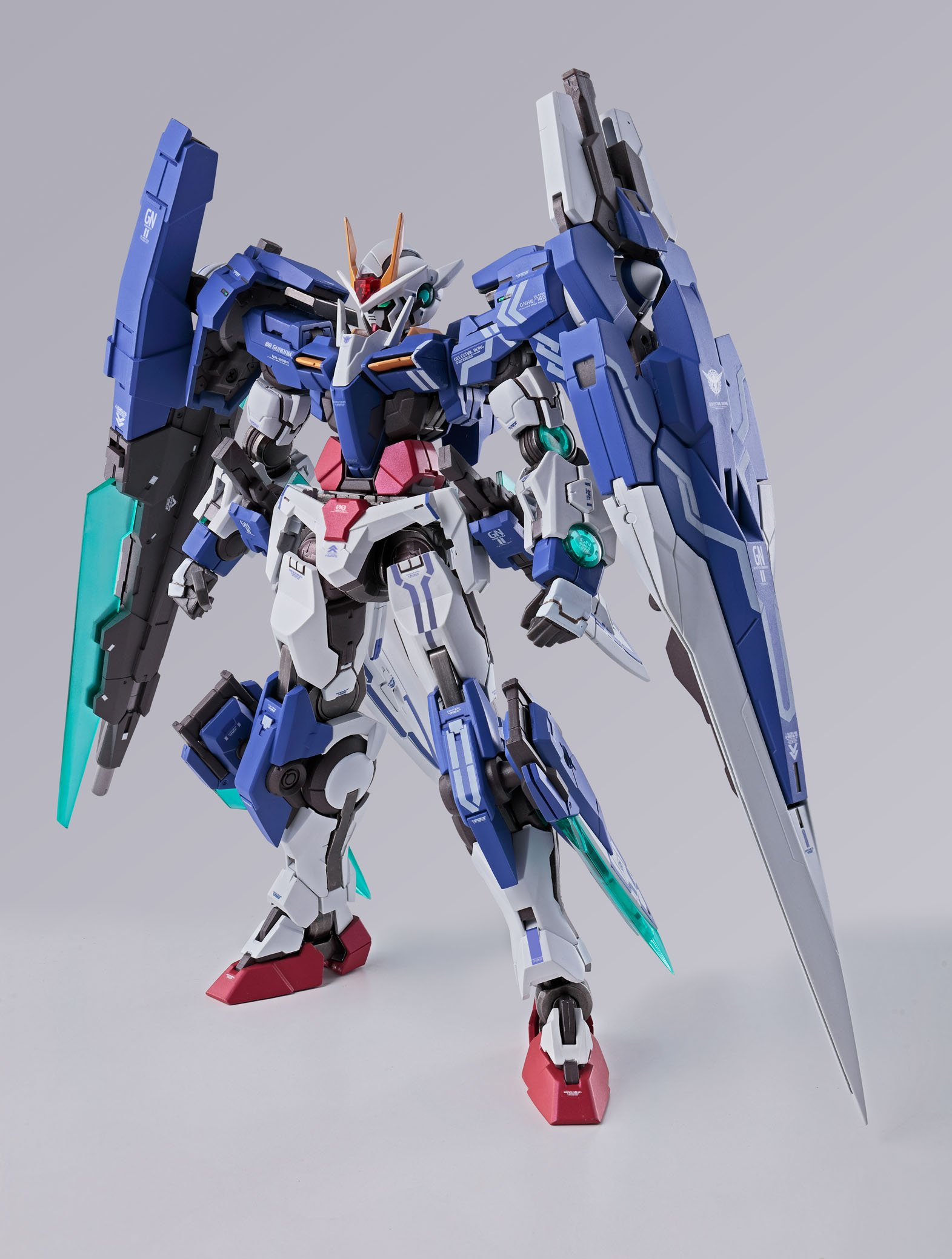 Bandai Gundam Metal Build Gundam Seven Sword G Mobile Suit Gundam 00V Battlefield record Action Figure by