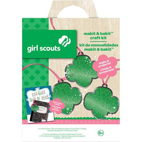 Girl Scouts Makit and Bakit Trefoil Craft Kit