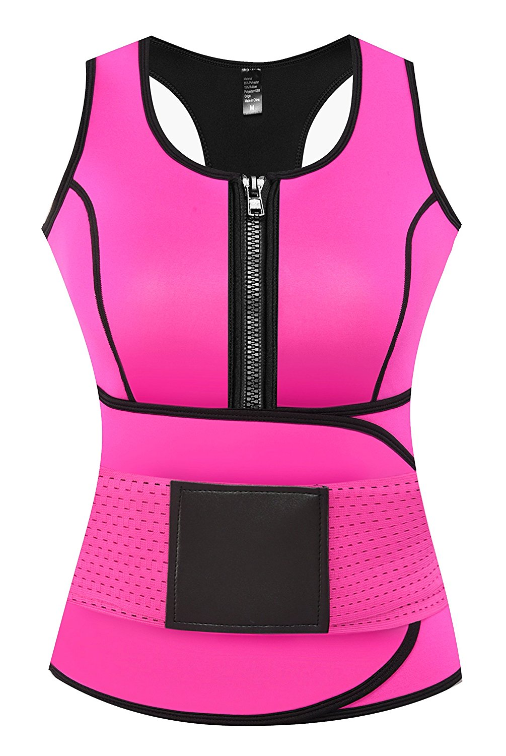 f3188cee0b629 Camellias Corsets - Camellias Womens Neoprene Sweat Sauna Suit Waist  Trainer Vest with Adjustable Waist Trimmer Belt for Weight Loss Workout  Body Shaper ...
