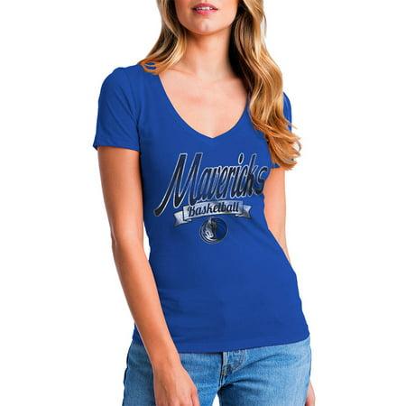 Adidas Dallas Mavericks Ball (NBA Dallas Mavericks Women's Short Sleeve Graphic Tee)