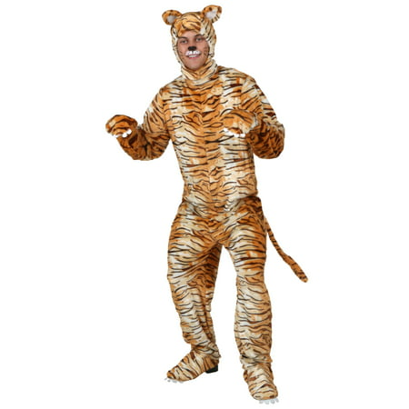 Adult Tiger Costume](Adult Tigger Onesie)