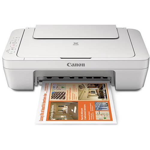 Canon Pixma Mg2920 White Wireless Inkjet Photo All In One Printer