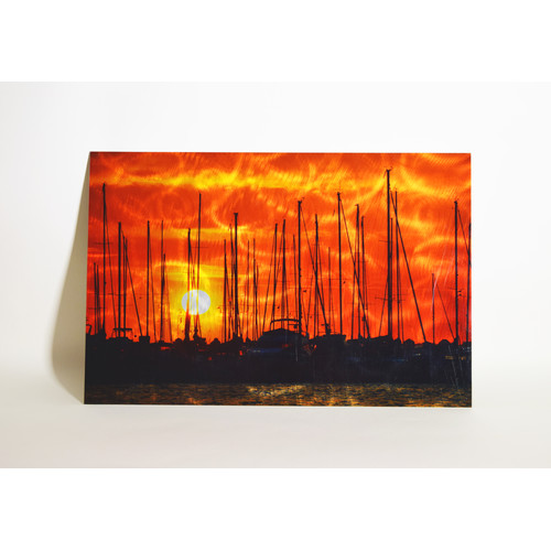 TrekDecor Sails in the Sunset Sublimation Graphic Art