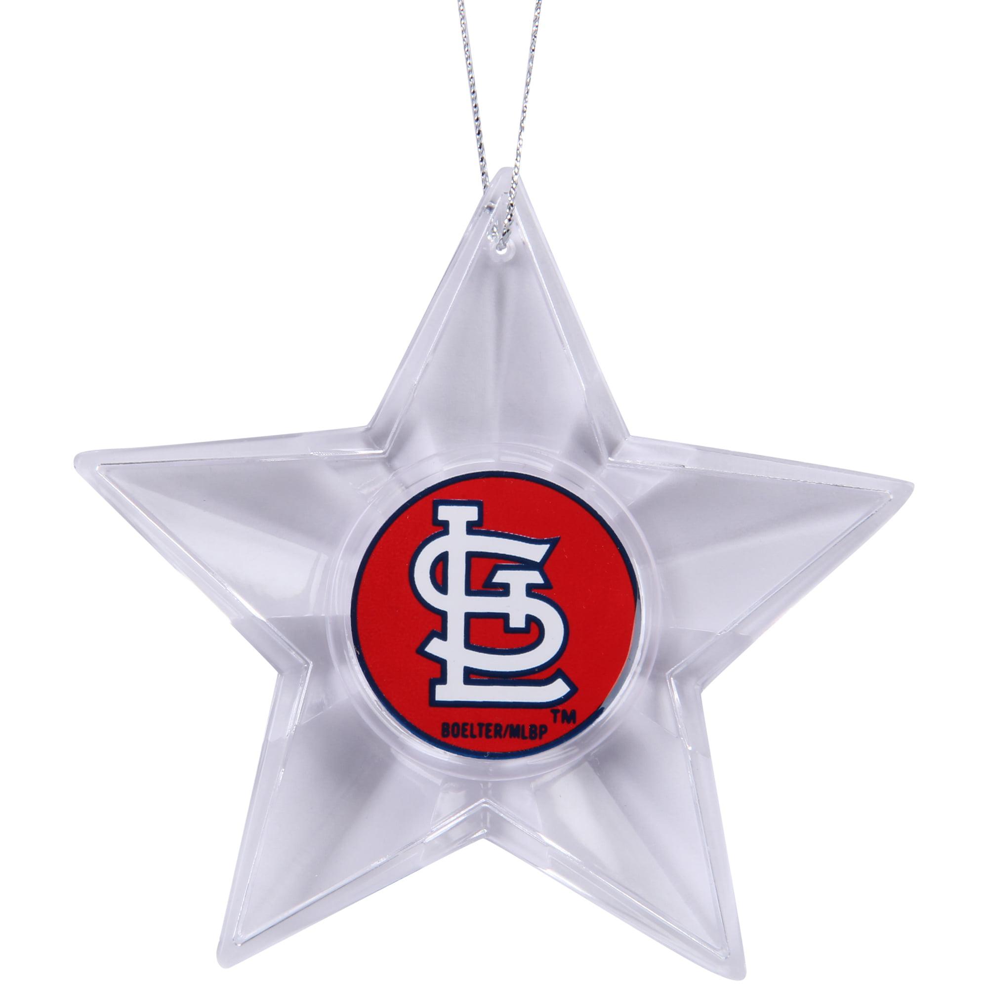 St. Louis Cardinals Star Ornament - No Size
