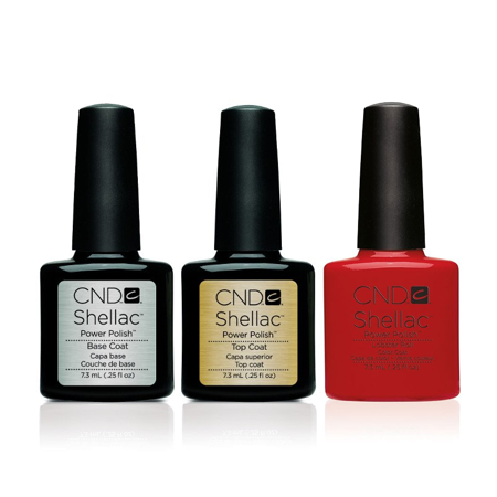 CND - Shellac Combo - Base, Top & Lobster Roll ()
