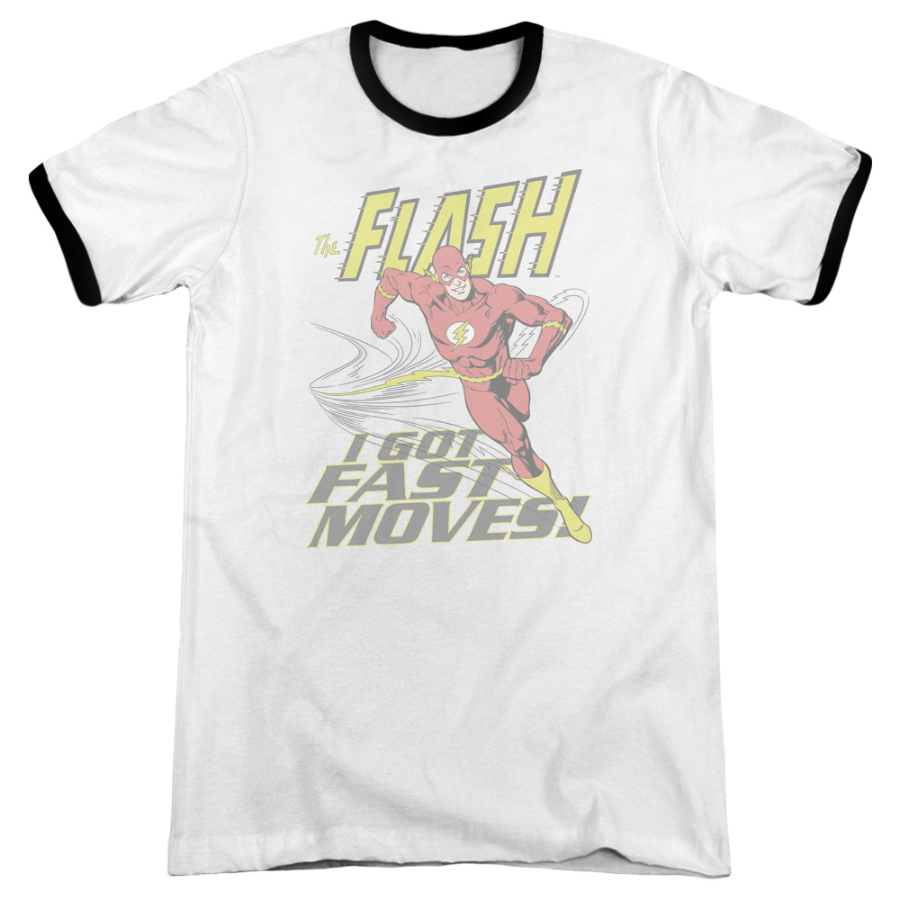 Dco Fast Moves Mens Adult Heather Ringer Shirt