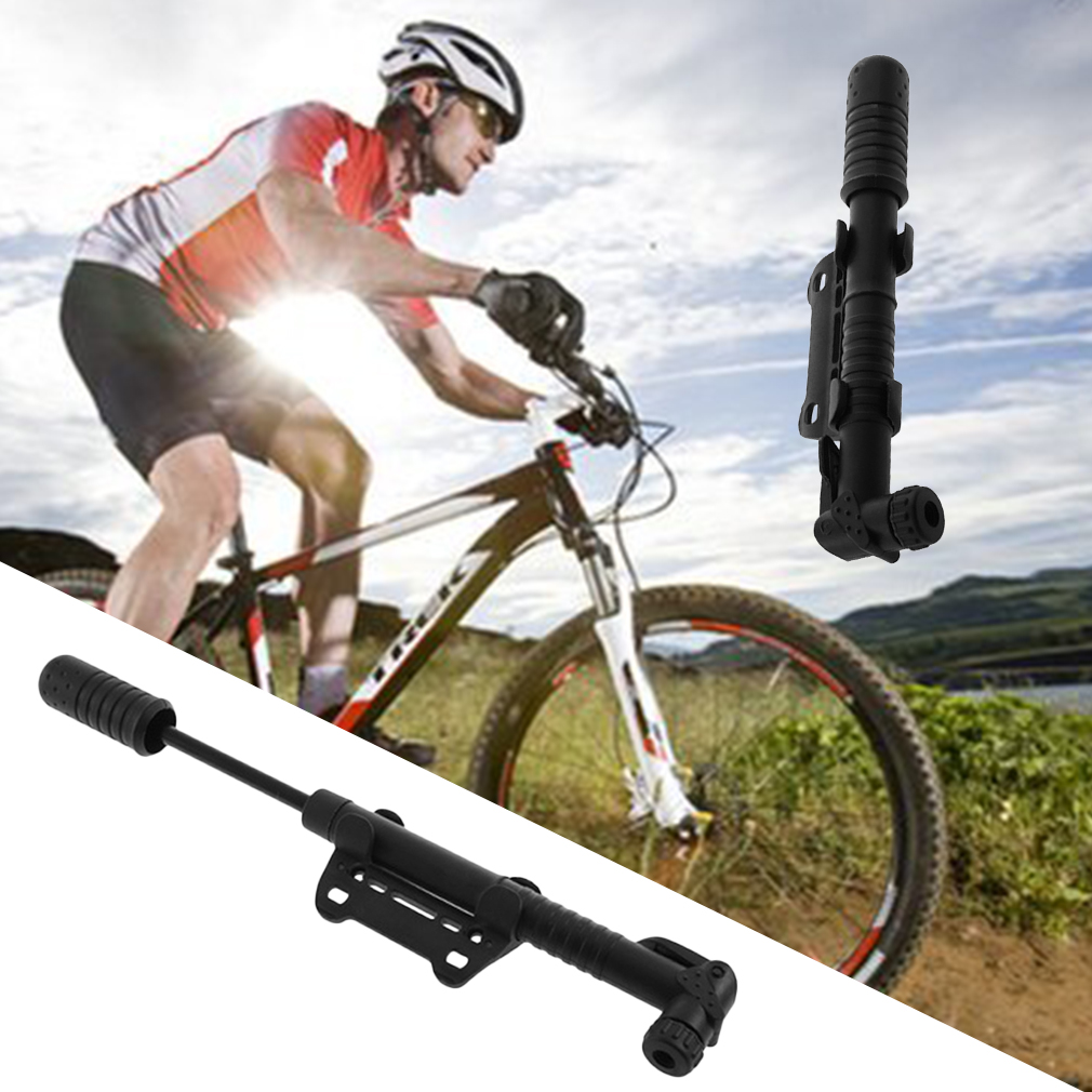 Portable Bicycle Tire Inflator Air Pump Mountain Bike Cycling Tire Inflator by
