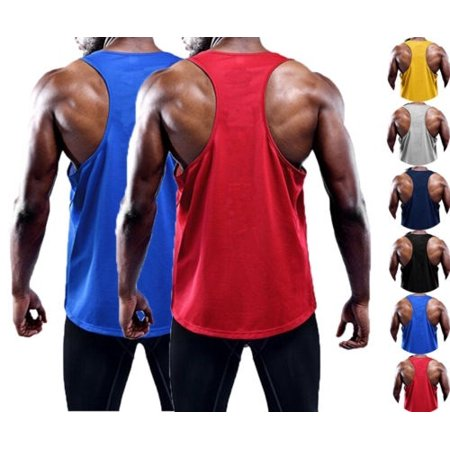 a348849f8a5568 Mens Sleeveless Bodybuilding Tank Tops Gym T-Shirt Muscle Sports Vest  Singlet AU