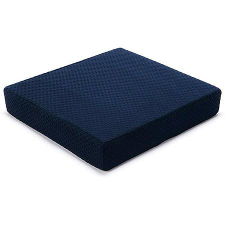 Carex Seat Cushion 3 Quot H X 16 Quot W X 18 Quot D Memory Foam Seat