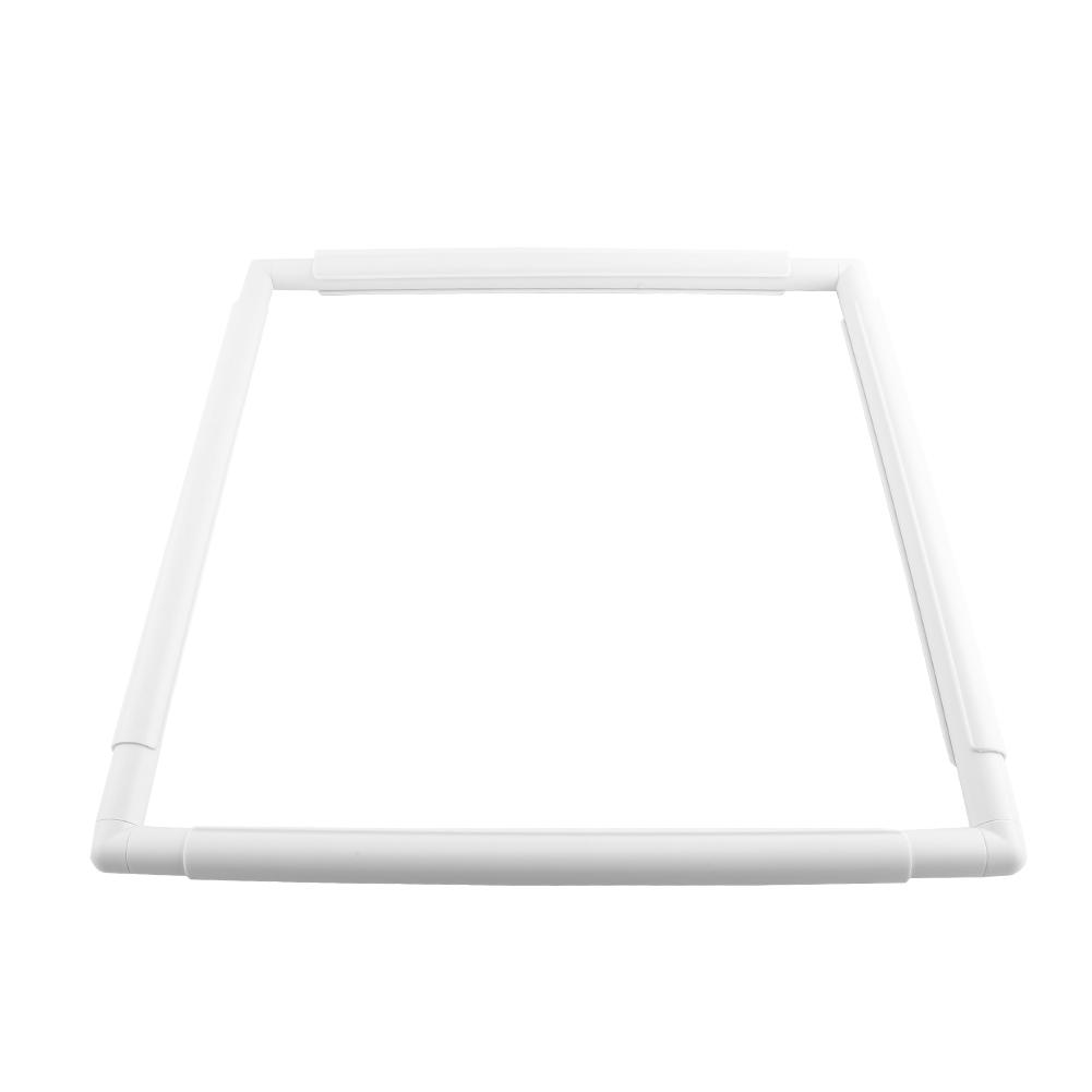 ROOCHL Square Rectangle Plastic Clip Frame for Embroidery Cross Stitch Quilting Needlepoint Tool 20.320.3cm