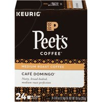 Peet's Coffee Caf Domingo Medium Roast Coffee K-Cup Pods 24 ct Box