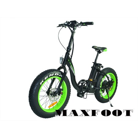 019f597fab3 Maxfoot Electric Bicycle Folding 500W 48V Fat Tire Electric Bike For ...