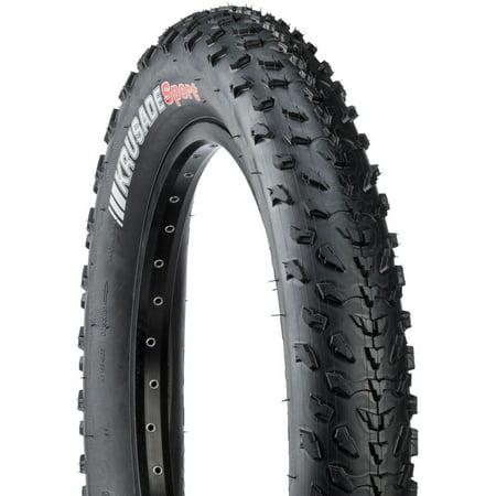 Kenda Krusade 20 x 4.0 Tire 60 TPI Black (2011 Chevy Silverado 20 Inch Tire Size)