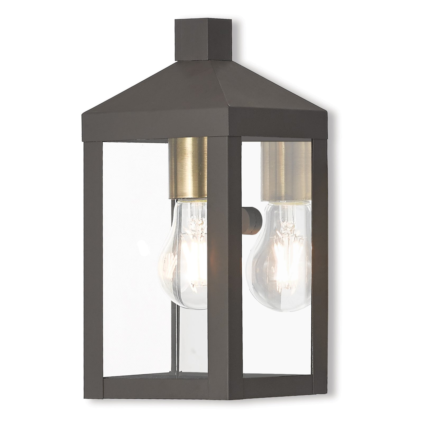 Livex Lighting Nyack 1 Light Outdoor Wall Lantern
