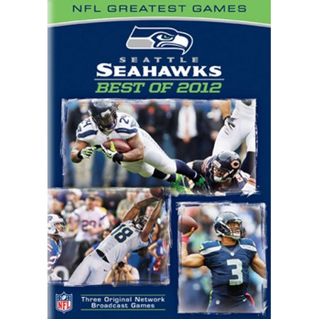 NFL GREATEST GAMES SET-SEATTLE SEAHAWKS BEST OF 2012 (DVD) (3DISCS) (Best Nfl Coaches Of All Time)