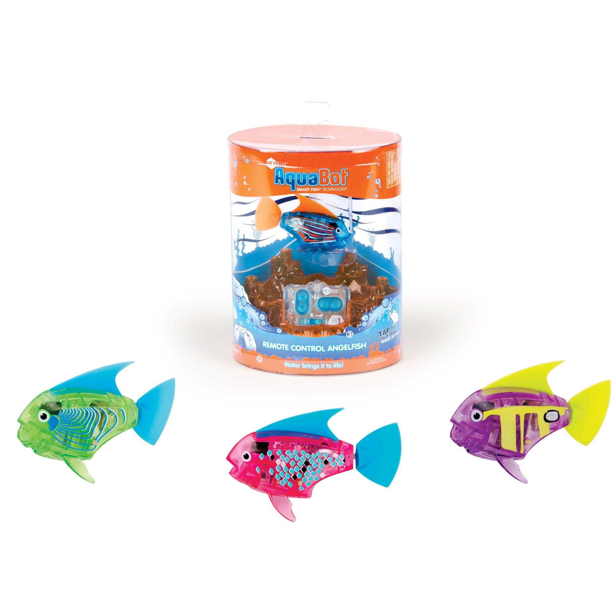 HEXBUG AquaBot Remote Control Angelfish, Colors and Deco May Vary