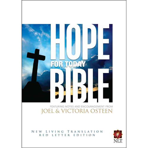 Hope for Today Bible New Living Translation, Red Letter Edition