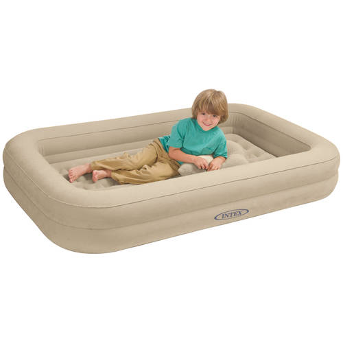 Intex Inflatable Kids Travel Airbed with Hand Pump - Walmart.com