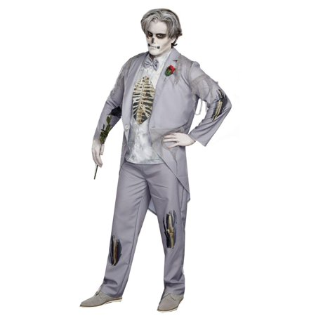 Got Cold Feet Zombie Groom Adult Costume (Zombie Adult)