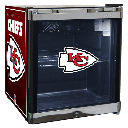 NFL Refrigerated Beverage Center 1.8 cu ft -Kansas City Chiefs by