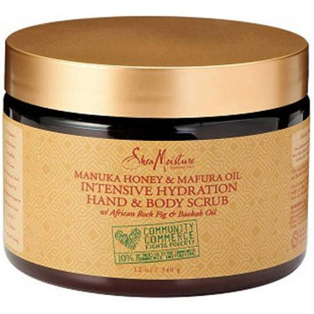 SheaMoisture Manuka Honey & Mafura Oil Intensive Hydration Body Scrub, 12 - Body Polishing Moisture Scrub