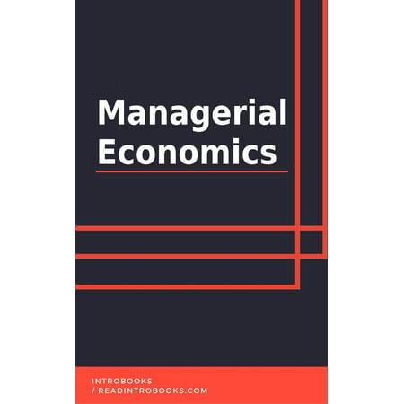 Managerial Economics - eBook