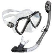 Regal LX Tucson Snorkel Set, Gunmetal Grey