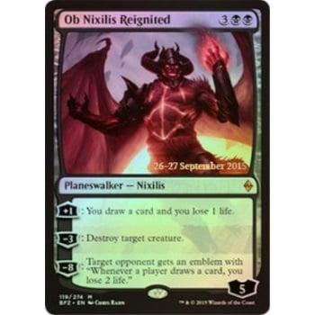 Pre Release Promo Foil (Magic: the Gathering - Ob Nixilis Reignited (119/274) - Prerelease and Release Promos - Foil )