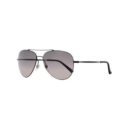 Gucci Aviator Sunglasses GG0500S 001 Shiny Black 59mm (Gucci Mens Gucci 1627 S Aviator Sunglasses)