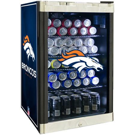 Front Refrigerated Merchandiser - NFL Refrigerated Beverage Center 4.6 cu ft - Denver Broncos