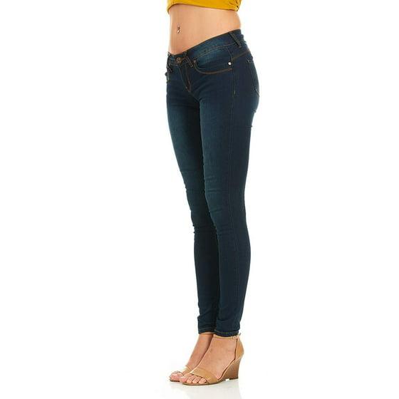 3e4949dba3f5 YDX Jeans - Cover Girl Jeans Women Juniors Mid Rise Slim Fit ...