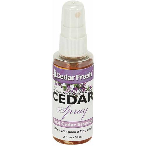 Household Essentials Cedar Oil Cedar Power Spray with Lavender, 2 oz