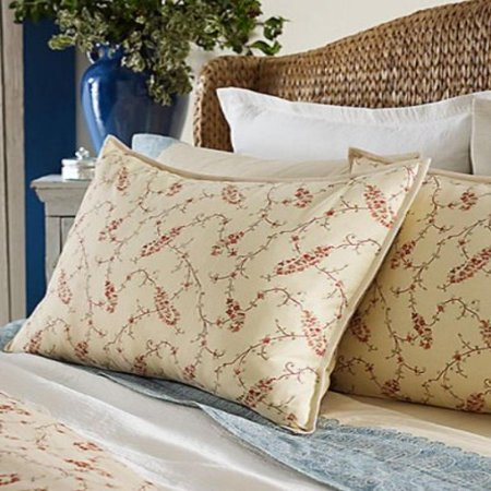 Lauren By Ralph Mirheau Paisley Fl Tan Standard Pillow Sham
