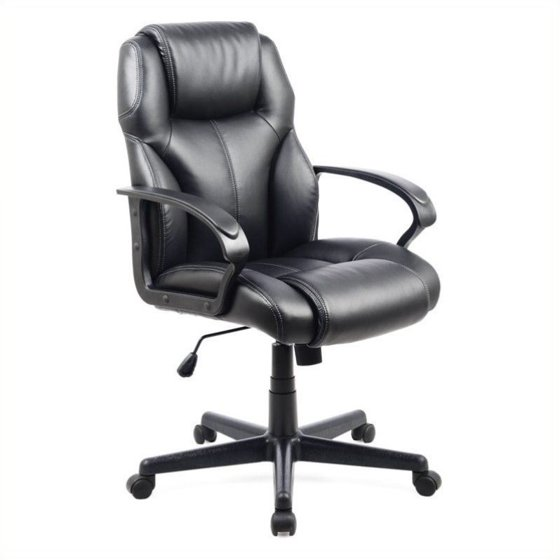 Brilliant Corliving Leatherette Managerial Office Chair Black Ibusinesslaw Wood Chair Design Ideas Ibusinesslaworg