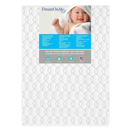 Play Yard Firm Foam Mattress  Happy Space  Antibacterial  Waterproof Lock Stitched Binding Helps Prevent Mold  Mildew And Odor From Seeping Inside  By Dream On Me