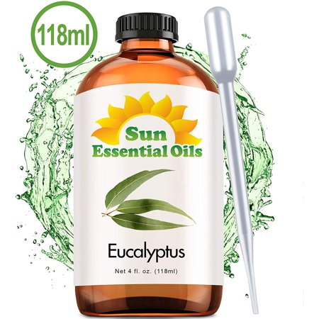 Sun Essentials Eucalyptus (Large 4 Ounce) Best Essential