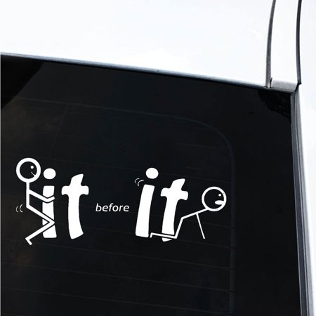 Essen Funny IT Car-Styling Vehicle Body Window Reflective Decals Sticker Decoration - image 3 of 6